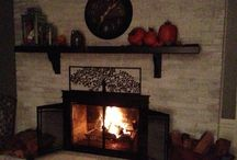 Fireplaces / by Karen Marable