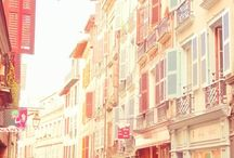 Travel Bucket ~ France / Medieval and port cities, tranquil villages, mountains and Mediterranean beaches, fashion houses, classical art museums and monuments, sophisticated cuisines and wines.