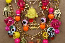 Dia de Los Muertes JEWELRY/RINGS/PINS