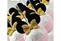 Mickey Mouse, Minnie & Friends Cake pops