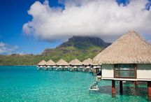 French Polynesia / Bora Bora, Moorea, Huahine, Taha'a, Raiatea, Manihi, Tikehau, Rangiroa, Fakarava, The Marquesas and the other exquisite Islands of Tahiti cover more than two million square miles of the South Pacific Ocean. Paradise on earth!