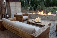 Outdoor furniture and tables