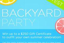 Uncommon Goods Backyard Party