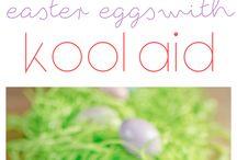 kool-aid dye egg