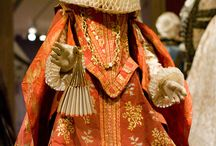 renesanční oděv - dámský