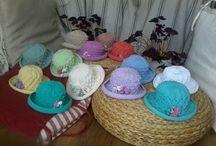 Çocuk Şapkaları / Lolipop sekerleri gibi cok guzel oldular.
