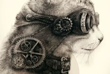 Steampunk, Alice in Wonderland & common