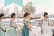 WOWedding - Sparkling Water Themed Wedding / Teal, Aqua, Mint themed wedding  / by White Orchid Weddings