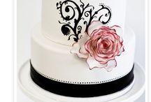 Baking Cake - Hand Painted