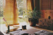 wnętrza Zen