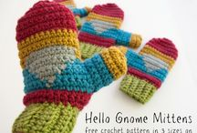 crochet kids hats and clothes