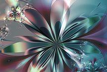 Digitální květiny