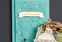 Stampin Up - World Traveler Embossing Folder