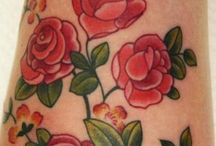 Tattoos Board 2 / I started this collection while researching my latest tattoo - cherry blossoms on my foot.  This is a great collection for figuring out exactly what you do and don't like in tattoos!