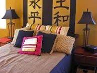 Hunter bedroom ideas / He wants an Asian themed room...
