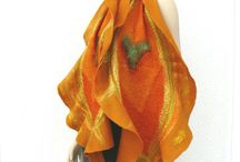 Nuno felted : MajorLaura / Nuno Felted scarf, shawl  Nuno Nemez sál, nemezelt selyem gyapjú, Nőknek, Divat,