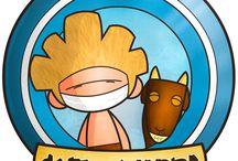 Gofio y Cabra / Imagenes varias de nuestros personajes favoritos.