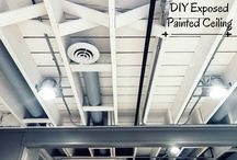 Basement ceiling