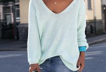 Love this scoop neck sweater, the color too!