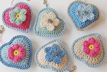 accesorios,  puntos y técnicas en crochet