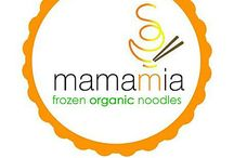 Mamamia ! / Frozen Organic Noodles with no preservatives, no artificial coloring & MSG.
