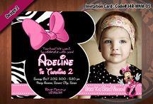 Shoot: 1st Birthday: Minnie Mouse / by Esme Ramirez