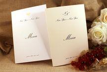 Menu per il ricevimento di nozze / Le proposte Tipidea per il ricevimento di nozze, disponibili in 4 varianti.  Per saperne di più:  http://bit.ly/1d7lhTw  #Tipidea #Matrimonio #Nozze #Wedding #WeddingPlan #WeddingPlanner #Ricevimento