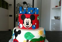 Mickey Mouse cake / Luca's Mickey Mouse