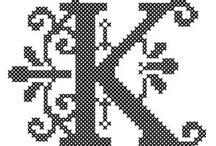 Monogram julestrømpe