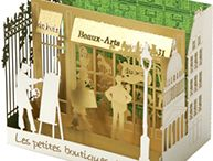 Pop up boxes and books