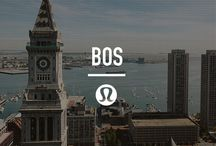 local city guide: Boston / A local city guide, handpicked by our local team. Our favourite places to sweat, eat, drink and spend our days. / by lululemon