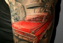 Rockabilly tattoo
