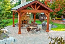 This is a great look for a gazebo