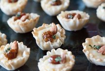 Holiday Appetizers / Every gracious host or hostess needs delicious appetizers to make a party merry. These recipes are all so easy —  yet impressive.