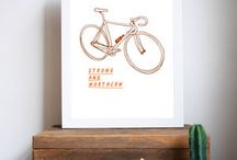 Design lovin' / Here's a collection of prints and other creative stuff we love