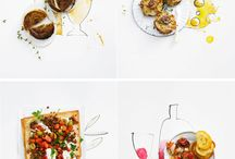 Food Styling / Great inspiration for food styling, textures, colors, backgrounds, propping, lighting and etc.