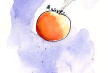 Childrens Book Illustration / Roald Dahl illustrator Quentin Blake