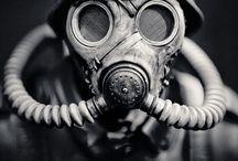 Máscaras de gás