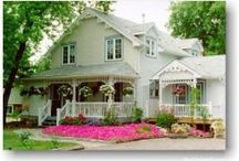 Ideal Surroundings /  House & Home Inside & Out.  Design, rooms, furniture, lawn & garden. / by Karen Swanger
