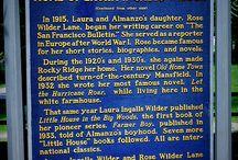 Laura Ingalls Wilder / by Ingrid