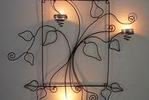 lampu ornamen logam