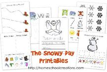 Winter books and worksheets