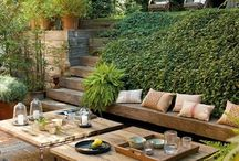Home // Outdoor Space / by Jessica DeMaio