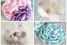 Fabric n Ribbon flower
