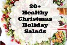 Salads of all kinds.