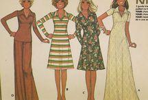 Vintage patronen