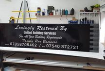 Advertising Board Completed