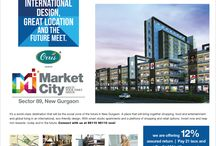 Orris Infrastructure Market City / It's a world-class destination that will be the social zone of the future in New Gurgaon. A place that will bring together shopping, food and entertainment and global living in an international, eco-friendly design. With smart studio apartments and a plethora of shopping and retail options. Invest now and reap rich rewards- today and in the future. Close to settled residential colonies, commercial developments and easily accessible from DMIC, Manesar, Gurgaon, NH8 & Pataudi Road.