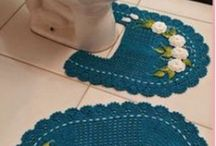 Arredo bagno crochet