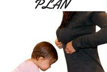 Post Pregnancy Weight Loss & Workouts / Workouts and diet tips to help lose weight post pregnancy.  Home workouts to help postpartum weight loss and get toned again.